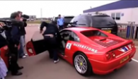 How not to treat a Ferrari