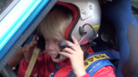 Kalle Rovanpera – future rally star?