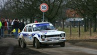 Kurt Vanderspinnen and Ford Cortina Lotus @ Ypres