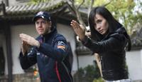 Vettel goes kung fu