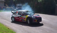Neuville puts on a show at Goodwood