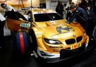 Alex Zanardi tests BMW M3 DTM