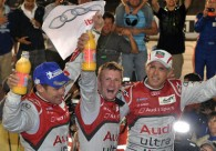 Golden Audi trio back with a bang