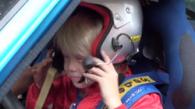 Kalle Rovanpera – future rally star?