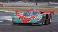 Johnny Herbert and the Mazda 787B in Le Mans