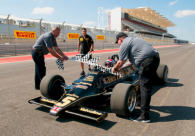 Mario Andretti opens COTA