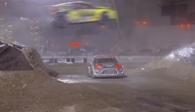 Foust wins specatcular Global Rallycross Championship